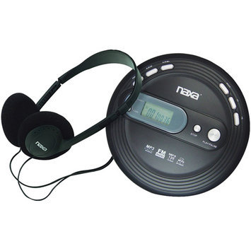 Naxa NPC330 Slim Personal Cd Player With Fm Scan Radio