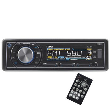 Naxa NCA601 Fold Down Detachable Am/fm/mp3/cd USB/sd Remote