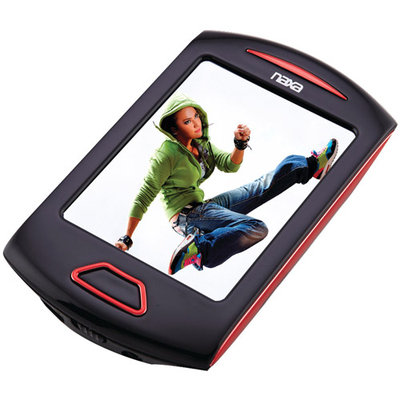 Naxa Nmv179rd 4GB 2.8 Touchscreen Portable Media Player (red)