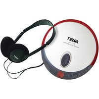 Naxa NPC319BK Slim Personal Compact Disc Player