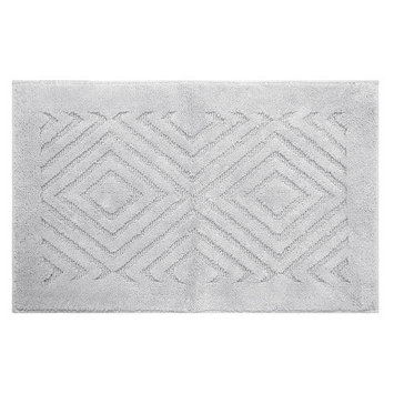 Better Trends Trier Bath Rug Color: White