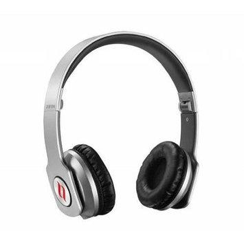 Noontec Zoro HD Adjustable Over-Ear Headphones, Silver