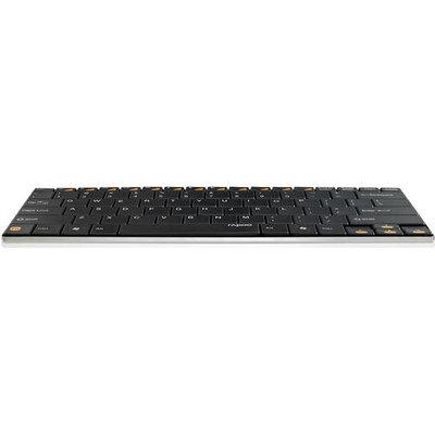 Shenzhen Rapoo Technology Co. 1028-04K76-800 Wireless Compact Ultra-slim Keyboard/bla