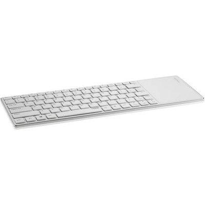 Rapoo E6700 Keyboard - Wireless - Bluetooth - Whitetouchpad (1028-04q0b-800)