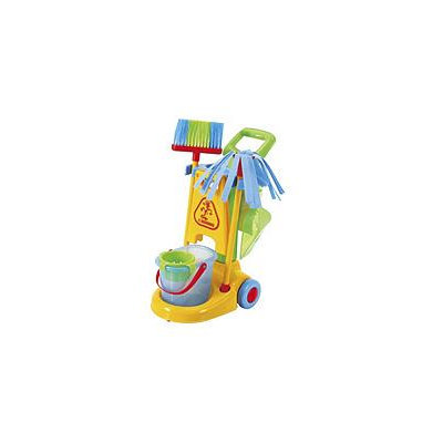 Playgo Cleaning Trolley Play Set