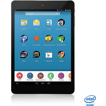 AARP RealPad MA7BX2 7.85-inch Touchscreen Tablet PC - Intel 1.2 GHz Dual-Core Processor - 1GB RAM - 16GB Storage - Android 4.4 KitKat - Black