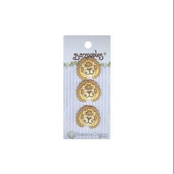 Buttons Galore 93420 BaZooples Buttons-Lester The Lion