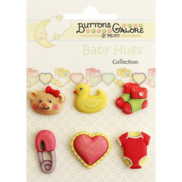 Buttons Galore Baby Hugs Buttons-Sweet Baby Girl