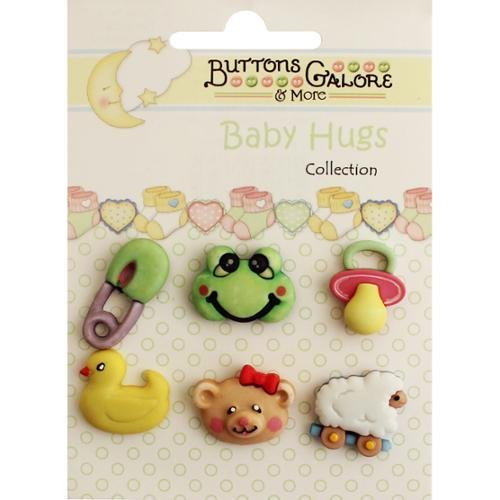 Buttons Galore Baby Hugs Buttons-Wee Ones