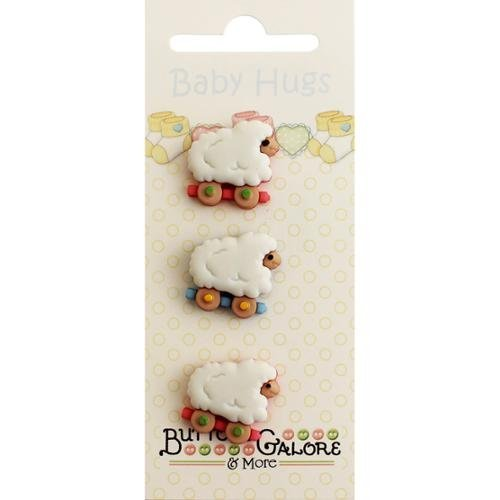 Buttons Galore Baby Hugs Buttons-Sheep