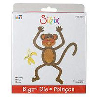 Sizzix Bigz BIGkick/Big Shot Die-Monkey