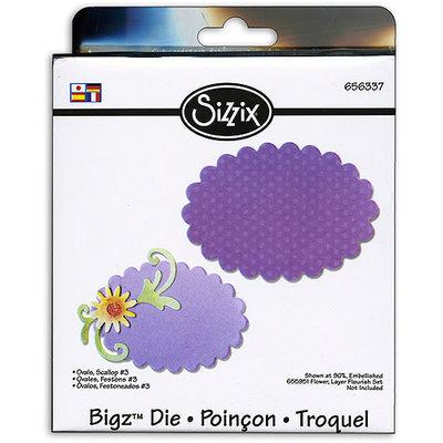 Sizzix Bigz BIGkick/Big Shot Die-Scallop Ovals #3
