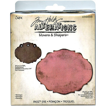 Sizzix Movers & Shapers Base Die By Tim Holtz-Baroque