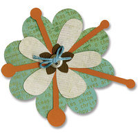 Sizzix Bigz Figgy Pudding Flower Layers BIGkick/ Big Shot Die