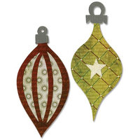 Sizzix Bigz BIGkick/Big Shot Die 'Figgy Pudding Ornaments #4'