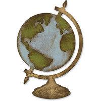 Sizzix Bigz Die By Tim Holtz-Vintage Globe
