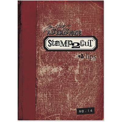 Sizzix eclips Stamp2Cut Cartridge By Tim Holtz-Alterations No. 14