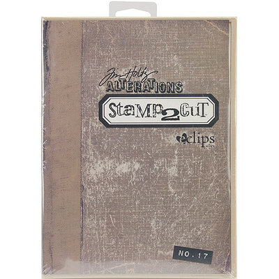 Sizzix eclips Stamp2Cut Cartridge By Tim Holtz-Alterations No. 17