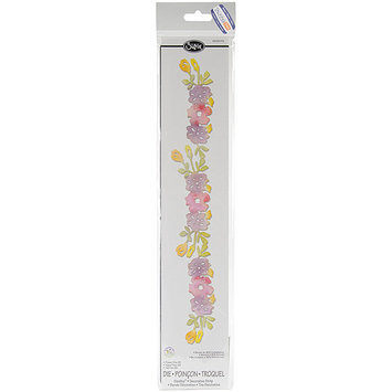 Ellison Educational Equipment Sizzix Sizzlits Flower Vine #2 Decorative Strip Die by Scrappy Cat