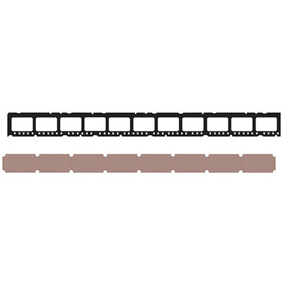 Sizzix Sizzlits Mini Filmstrip/ Mini Tickets Decorative Strip Die