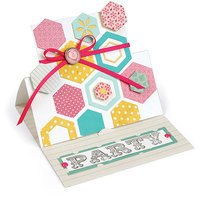 Sizzix Triplits Dies By Stephanie Barnard-Hexagon 14/Pkg