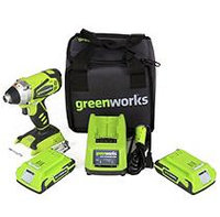 Greenworks 37032B G24 24V Cordless Lithium-Ion 1/4 in. Hex Impact Driver