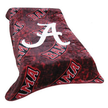 College Covers ALATH Alabama Throw Blanket- Bedspread