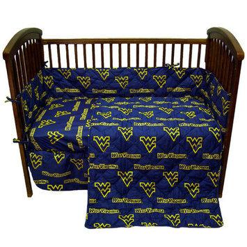 College Covers WVACS West Virginia 5 piece Baby Crib Set