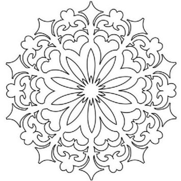 The Crafters Workshop The Crafter's Workshop Daisy Doodad Template