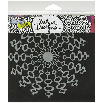 Crafters Workshop TCW6X6-401 Templates 6 in. x 6 in-Mix Tape