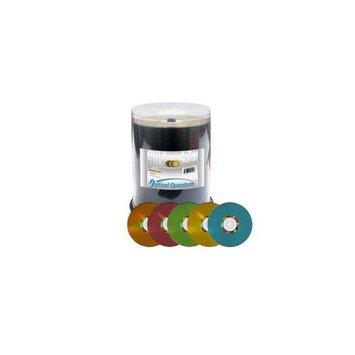 Vinpower Digital 4.7GB 16X DVD-R Color LightScribe 100 Packs Disc VPDMR16CRLS