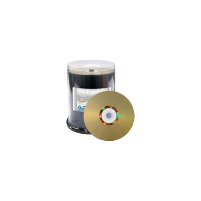 Vinpower Digital 4.7GB 16X DVD+R LightScribe 100 Packs Disc Model VPDPR16LS