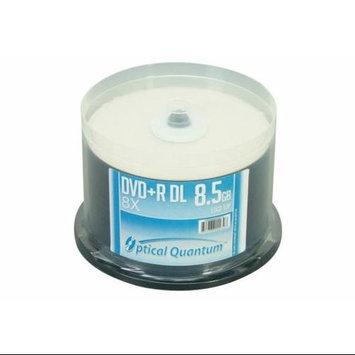Vinpower OPTICAL QUANTUM OQDPRDL08LT 8X8.5GB DVD+R Double Layer Logo Top media