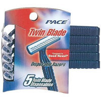 Bulk Buys Twin Blade 5Ct Disp Plus Mens - Case of 12