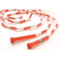 US Games 10' Red with White Segmented Skip Rope