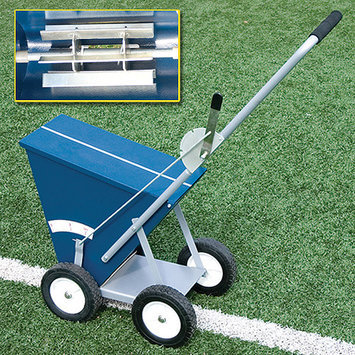 Alumagoal 4 Wheel All-Steel 65lb Dry Line Marker