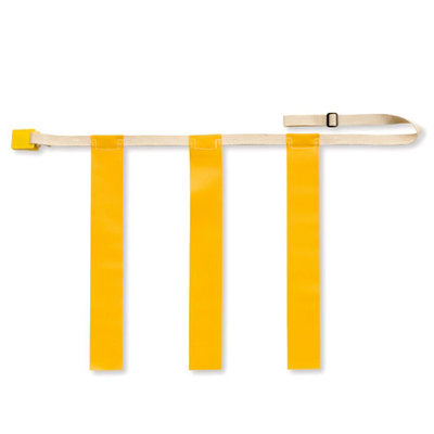 Bsn Triple Threat Flag Football Belts - Yellow (1 Dozen)