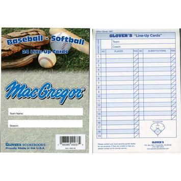 Wholesale Sport Supply Baseball / Softball Line-Up Card Booklet