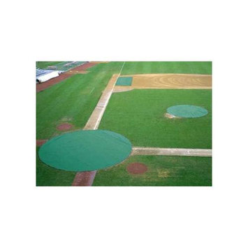 COLLEGIATE PACIFIC 1150575 Ultra Lite Field Covers Set - Green