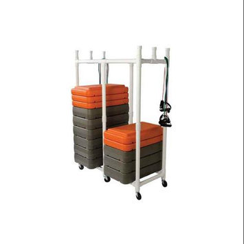 Collegiate Pacific Fitness Step Storage Rack / Cart