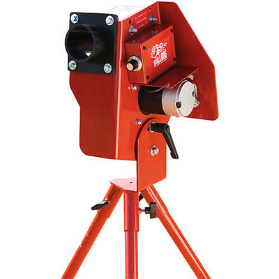 Athletic Connection Bulldog Single Wheel Baseball Softball Combo Pitching Machine