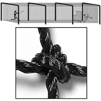 Garware Wall Ropes Heavy Duty Batting Cage Tunnel Net #36 (70'Lx14'Wx12'H)