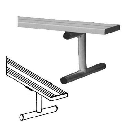 Bsn 15' Heavy Duty Portable Aluminum Bench without Back