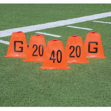 Poly Enterprises Poly Flag Football Sideline Marker Set (5 Pieces)