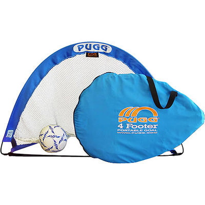 Athletic Connection Portable Soccer Goal - Pugg 4-Foot Trainer Pair