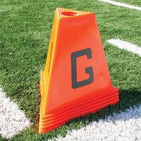 Poly Enterprises Poly Flag Football Sideline Marker Set (11 Pieces)