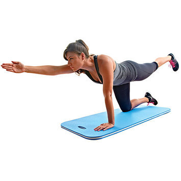 Ssg - Bsn 1271027 Dual Density Work Out Mat Fitness Stretching