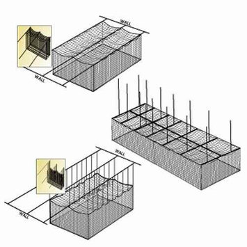 Fehr Brothers Ceiling Cage Net Suspension Kit
