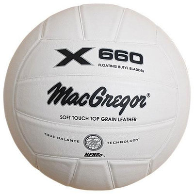 MacGregor X660 Soft Touch Leather Volleyball