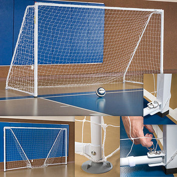 Athletic Connection Portable Indoor Foldable Soccer Goal (1 Pair)